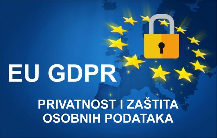zastita osobnih podataka GDPR