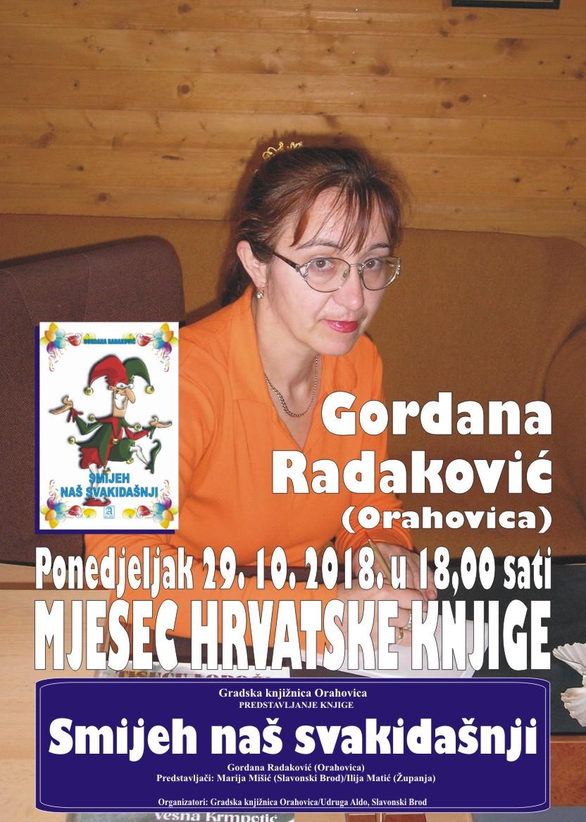 Plakat Gordana Radaković 1